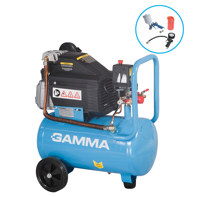 Compressor de ar Gamma 25 com kit