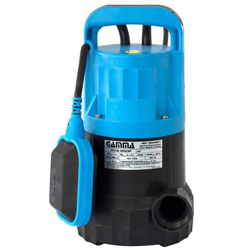 Bomba de água submersível (águas limpas) 750W