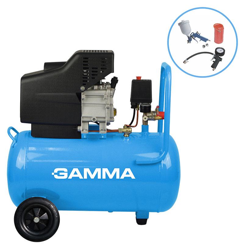 Compressor de ar Gamma 50 com kit