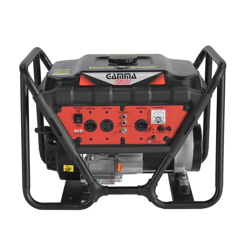 Gerador monofásico a gasolina 5.500V