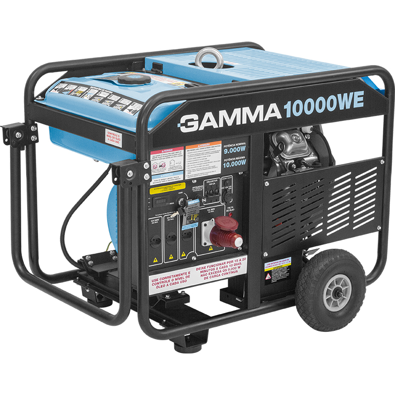 Gerador trifásico a gasolina 10.000W