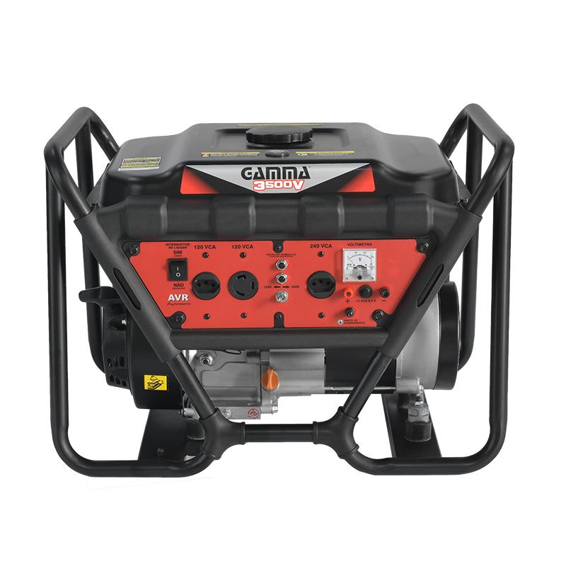Gerador monofásico a gasolina 3.500V